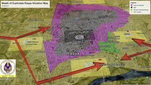Chiến sự Syria: SDF tuyên bố giành được 60% diện tích Raqqa