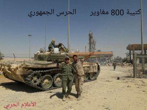 Hạ xong cứ điểm IS, quân đổ bộ Syria đánh rộng vùng giải phóng (video)