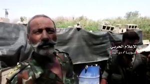Quân Syria đột kích phá hủy hầm hào IS ở tử địa Deir Ezzor (video)