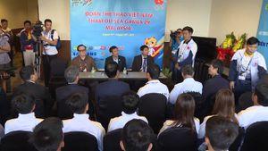 Bộ trưởng Nguyễn Ngọc Thiện gặp gỡ đoàn thể thao Việt Nam tại Malaysia