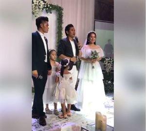 Bất ngờ với lời nói của Quý Bình trong đám cưới của Lê Phương và Trung Kiên