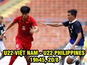 Nhận định bóng đá U22 Việt Nam – U22 Philippines: Công Phượng thở nhẹ lần cuối (SEA Games)