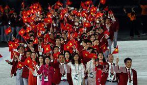 Đoàn thể thao Việt Nam vươn lên vị trí thứ 4 trên bảng tổng sắp
