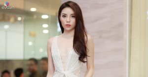 Hoa hậu Kỳ Duyên khiến khách mời phải trầm trồ khi dự sự kiện ở Hà Nội