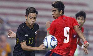 U22 Thái Lan hạ Campuchia trong trận cầu 2 thẻ đỏ