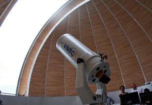 Đài thiên văn đầu tiên tại Việt Nam sẽ mở cửa đón khách từ tháng 9