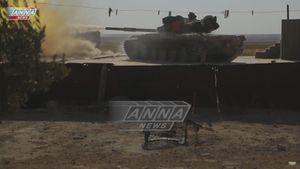 'Hổ Syria' tung đòn tiêu diệt IS trên sa mạc Raqqa (video)