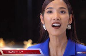 The Face: Đến bán kết, Hoàng Thùy 'chốt hạ' bằng câu ca dao ấn tượng