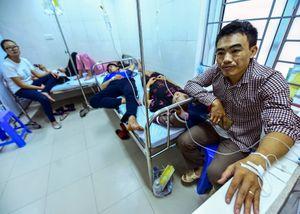 Nguy cơ lây nhiễm chéo vì quá tải bệnh nhân sốt xuất huyết