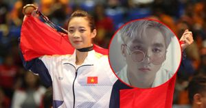 'Chúng ta không thuộc về nhau' của Sơn Tùng lại vang lên khi Việt Nam giành HCV Wushu