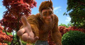 Bigfoot trong Bố Tớ là Chân To - Từ đời thực tới những thước phim hoạt hình