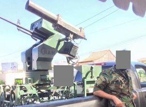 Syria phát triển pháo phòng không tự động chống UAV của IS