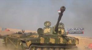 Quân đội Syria sắp kết liễu IS trên sa mạc Homs, Hama