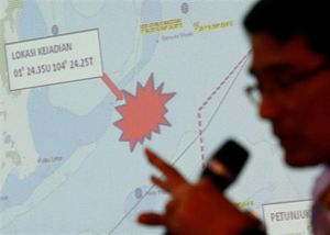 Malaysia tự tìm kiếm 10 thủy thủ Mỹ mất tích