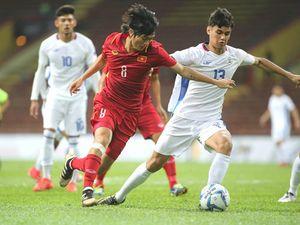 Màn trình diễn chất lượng của Tuấn Anh trong trận thắng Philippines