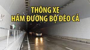 Thông xe hầm đường bộ Đèo Cả, dự án hơn nửa tỉ USD