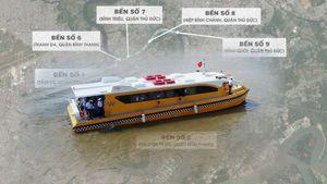 Lộ trình tuyến buýt sông Sài Gòn