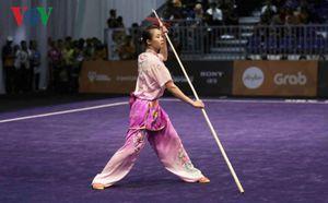 Ốm nặng, hoa khôi wushu Thuý Vi vẫn hoàn tất cú đúp vàng SEA Games 29