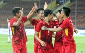 U22 Việt Nam nhận tin 'cực vui' sau trận thắng đậm U22 Philippines
