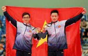 Bảng tổng sắp huy chương SEA Games: Đoàn Việt Nam áp sát tốp 2