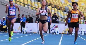 Tú Chinh về nhất vòng loại chạy 100m , điền kinh chờ 'hái vàng'