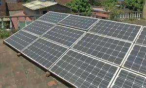 Người dân Bắc Giang dùng điện mặt trời để lọc nước sinh hoạt