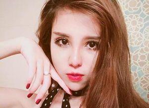 Hot girl lai Tây trường Báo tự tin thi Imiss Thăng Long
