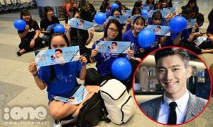 Fan 'cắm rễ' xuyên đêm ở sân bay Đà Nẵng vẫn chưa thấy Siwon