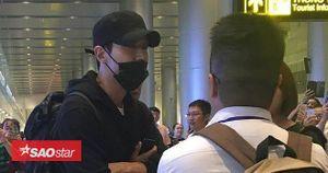 Siwon (Super Junior) xuất hiện rạng rỡ trong vòng vây người hâm mộ