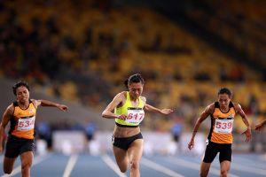 Sau Nguyễn Thị Huyền, đến lượt Tú Chinh giành HCV 100m nữ
