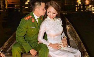 Cô gái Thanh Hóa cưới luôn chàng công an từng 'tuýt còi' mình