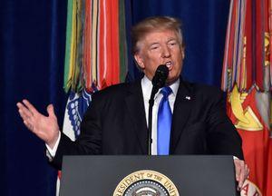 TT Trump cam kết tăng quân Mỹ ở Afghanistan