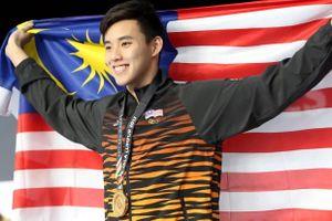 Kình ngư Malaysia được yêu mến vì quá đẹp trai tại SEA Games 29