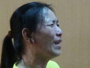 Người phụ nữ bật khóc tại tòa khi lĩnh án chung thân