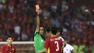Xem lại tình huống cầu thủ U22 Indonesia nhận thẻ đỏ sau khi 'đánh nguội' Tuấn Tài