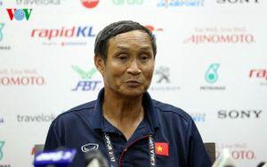 HLV Mai Đức Chung: 'Nếu may mắn hơn, chúng ta đã thắng Thái Lan'