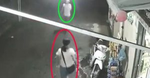 Clip: Tên trộm vứt xe bỏ chạy khi bị nữ chủ nhà phát hiện
