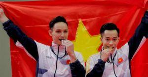 Clip nóng SEA Games 29 (23.8): Đón 'mưa vàng', đoàn TTVN bứt phá