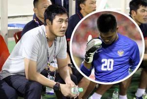 HLV Hữu Thắng khen thủ môn U22 Indonesia cứu thua không tưởng
