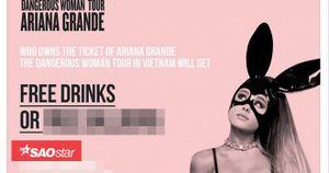 Hàng loạt quán ăn, tụ điểm vui chơi tung khuyến mãi 'ăn theo' sự kiện Ariana Grande hủy show diễn ở TP HCM