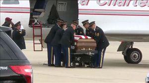 Lính Mỹ tử trận ở Afghanistan được trở về nhà