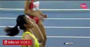Tú Chinh giành huy chương vàng 100 m nữ