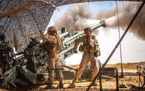 Những hình ảnh ấn tượng về binh sĩ Mỹ trong huấn luyện và chiến đấu