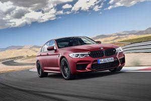Khám phá và thử tốc độ của BMW M5 2018