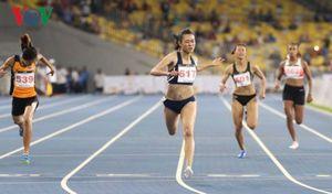 Nữ hoàng tốc độ mới Tú Chinh thống trị đường chạy cự ly ngắn SEA Games