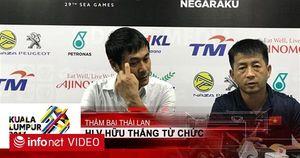 HLV Hữu Thắng từ chức sau thất bại trước đội tuyển Thái Lan