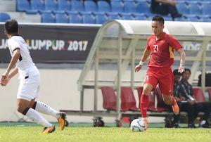 U22 Việt Nam 0-0 Thái Lan (H1): Bóng dội xà ngang