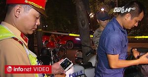 """Bút camera: """"Vũ khí"""" đắc lực của cảnh sát 114"""