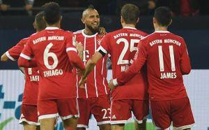 Schalke 0-3 Bayern Munich: Hùm xám bóp nghẹt đối thủ