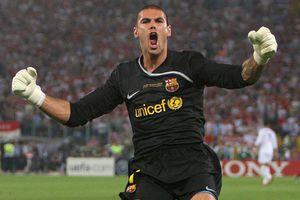 Victor Valdes và những pha cứu thua thần sầu ở Barca